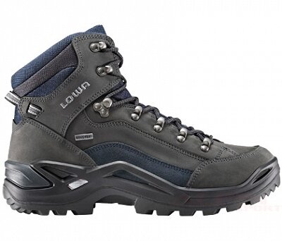 1f6954c6 Buty LOWA Renegade GTX mid | Dark grey/navy | Alpinsport