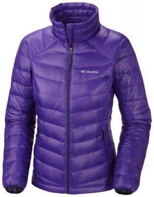 Kurtka COLUMBIA WL5434 Platinum 860 columbia platinum 860 turbodown down hyper purple woman
