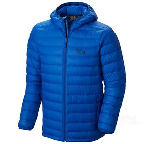 Kurtka MHW Micro RatioH OM6298 down jacket mountain hardwear micro ratio hooded azul 07PR ikona produktu