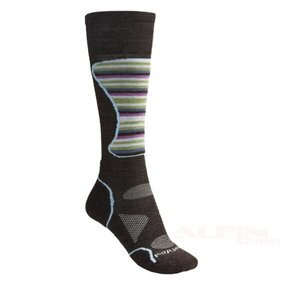 Skarpety SmartWool 340 Ski LT L's smartwool phd mid cushion ski socks lightweight merino wool for women in chestnut multi stripe~p~1943x_06~460 ikona produktu