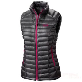 Kamizelka MHW Ghost Wh. OL6297 mountain hardwear ghost whisperer qshield down vest 800 fill power for women in graphite bright rose~p~7790t_02~1500 ikona produktu