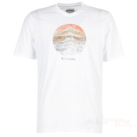 Koszulka COL JM1547 CSC Mountain columbia white Csc Mountain Sunset T Shirt ikona produktu