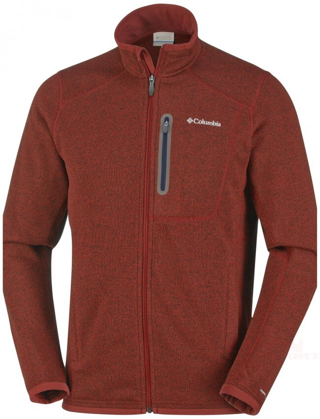Kurtka COLUMBIA EM2486 Altitude Aspect columbia men s altitude aspect full zip fleece rust red heather 30