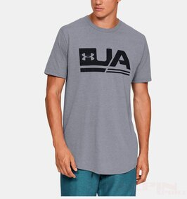 Koszulka Under Armour 1329617 Sportstyle Drop Hem Short Sleeve V5ProdWithBadge ikona produktu